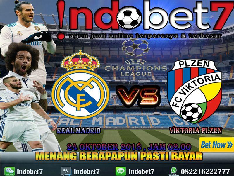 Real Madrid VS Viktoria Plzen