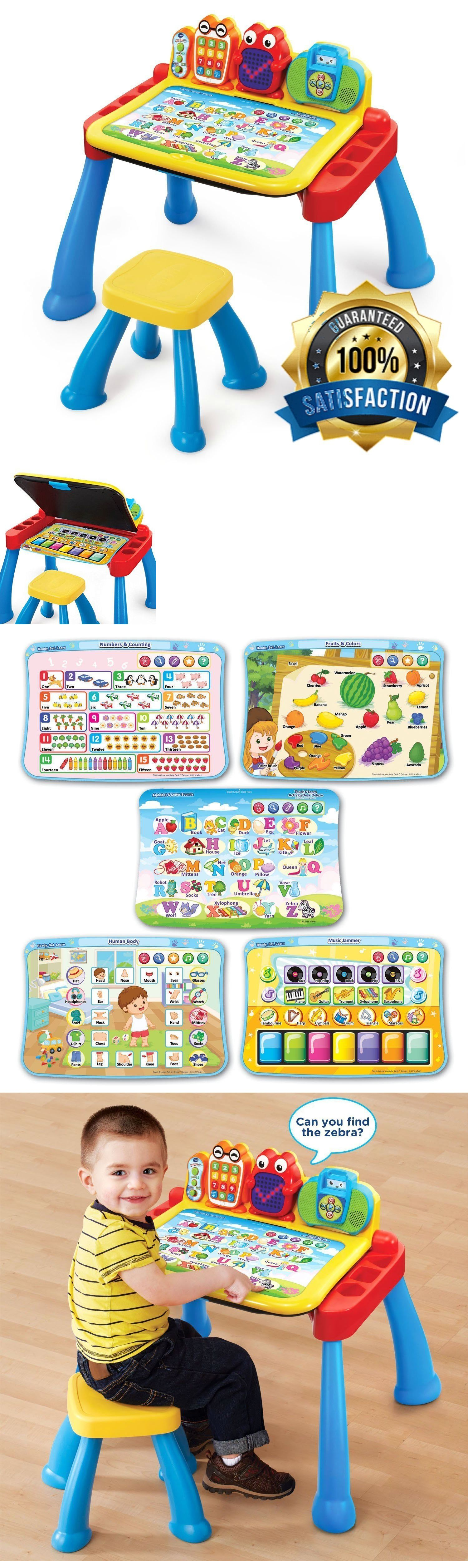 Baby Educational Toys For 2 Year Olds Activity Learning Desk Boys