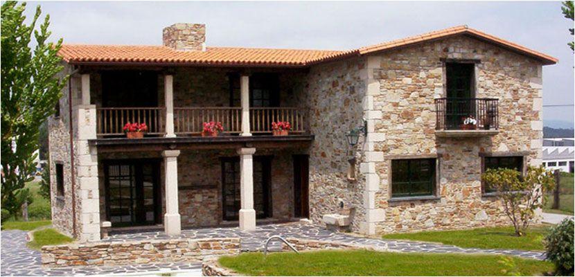 Construcciones r sticas gallegas casas r sticas de piedra inicio casas de campo pinterest - Rusticas gallegas ...