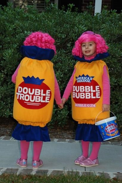 Funny Kidsu0027 Halloween Costumes | Fashion - Yahoo Shine  sc 1 st  Pinterest : good twin halloween costumes  - Germanpascual.Com