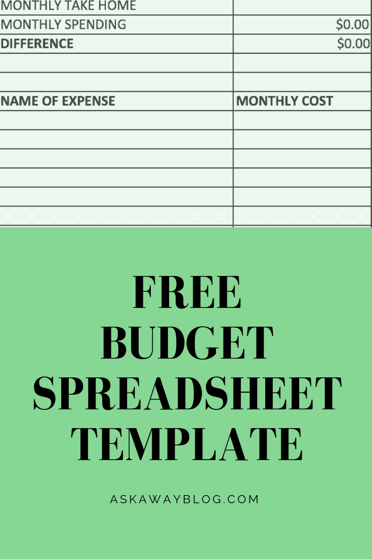 get a free downloadable budget spreadsheet template that you can