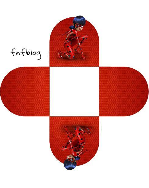 Forminhas Docinhos 3d Miraculous Ladybug Ladybug Para Imprimir