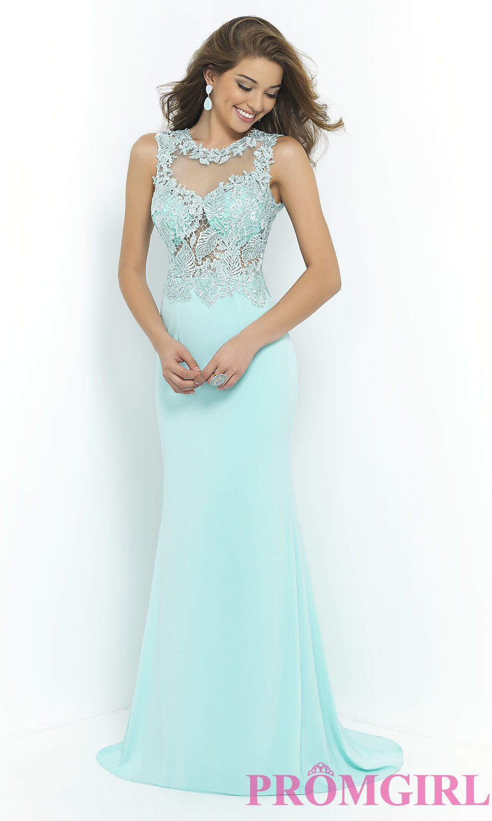 Prom Dresses, Plus Size Dresses, Prom Shoes: High Neck Long Gown ...