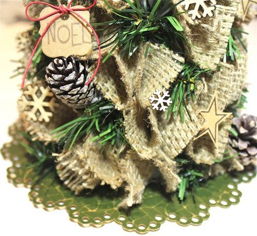 Styrofoam Holiday Tree Project