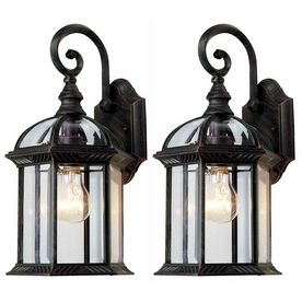 Outside By The French Doors Lowes Exterior House Lights
