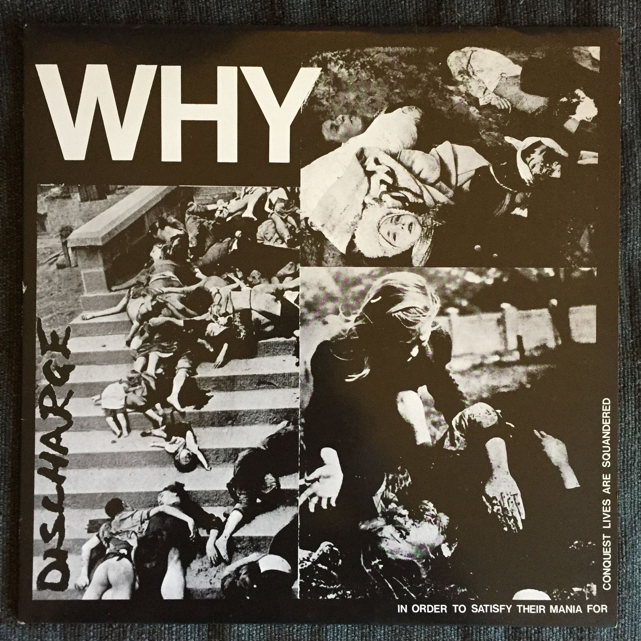 Discharge - Why (Used LP)