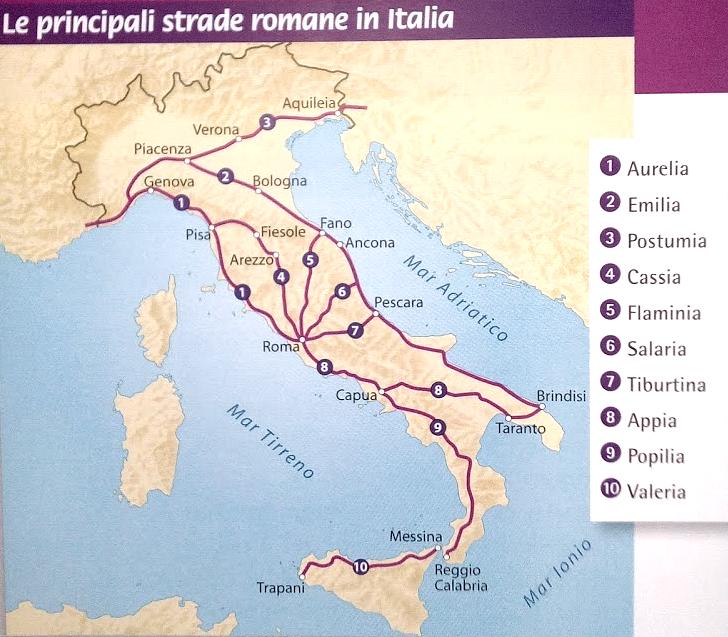 Cartina Italia Romana.Pin Di Frank Dominguez Su Roman Roadways Roma Antica Roma Romani