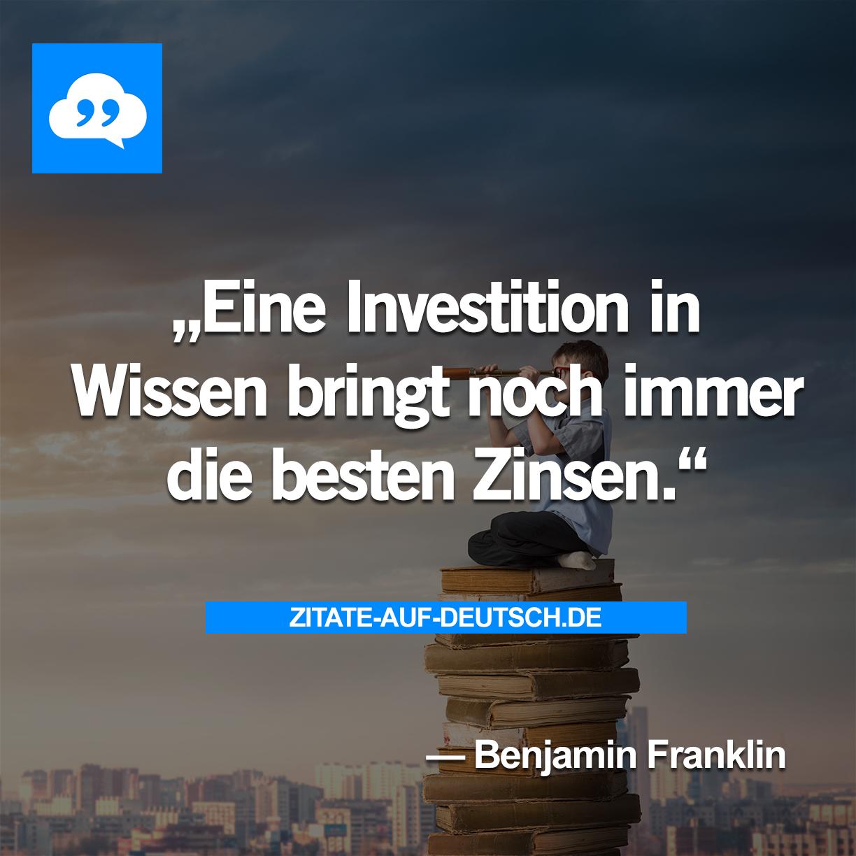 Investition, #Spruch, #Sprüche, #Wissen, #Zinsen, #Zitat, #Zitate