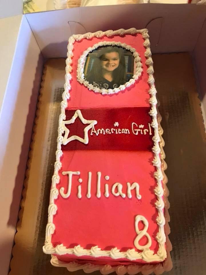 Pleasing American Girl Diy Birthday Cake Girls Birthday Party Diy Personalised Birthday Cards Paralily Jamesorg