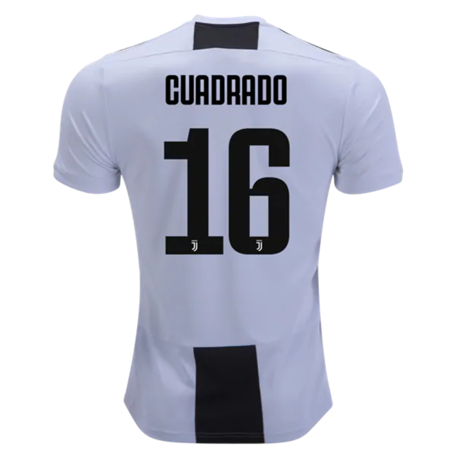 Juventus 18 19 Home Men Soccer Jersey Personalized Name And Number Zorrojersey Olahraga