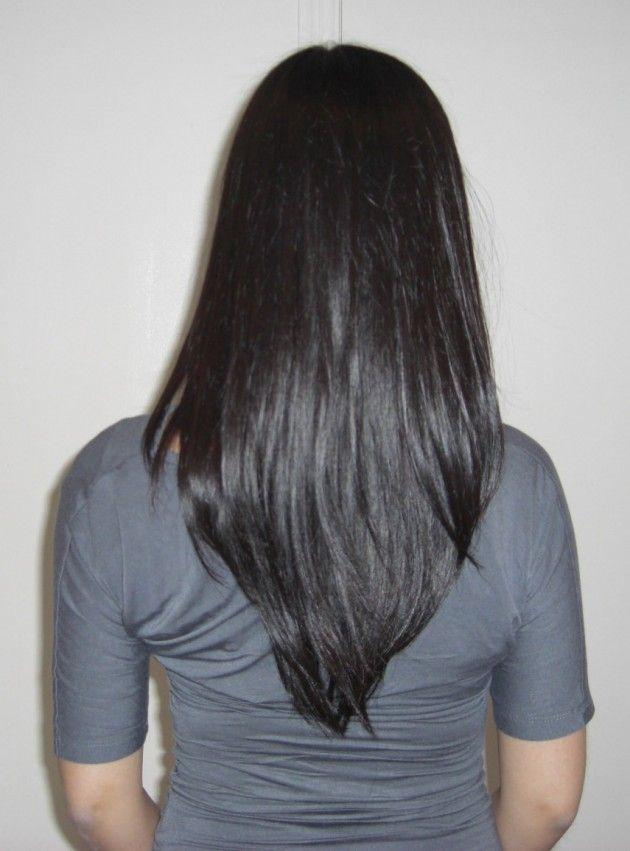 Chic Your Hair With Layered V Cut Haircut Gillybean Hair Makeup