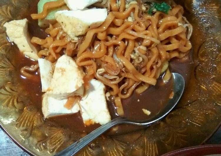 Resep Lontong Mie Surabaya Oleh Pawon Ibuk Resep Resep Kecambah Mie