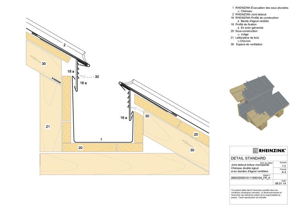 Toiture zinc 3d front office Pinterest Extensions, Front - prix de construction d une maison