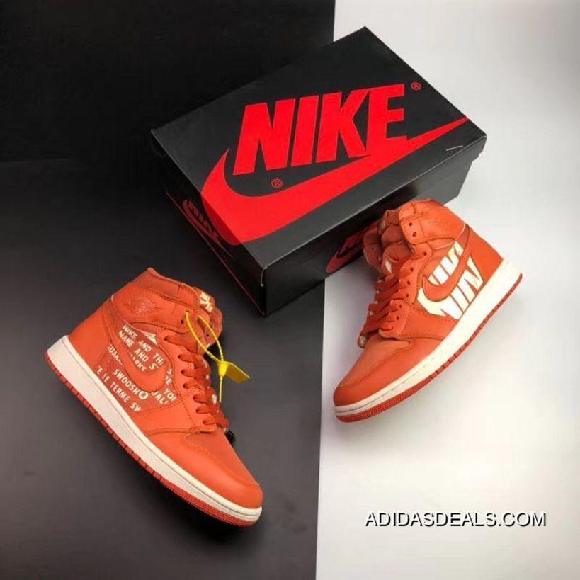 new concept 2374d 80acc Men Air Jordan 1 Retro Basketball Shoe SKU 141699-518 New Year Deals