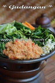 Diah Didi S Kitchen Gudangan Atau Urap Sayuran Matang Resep Masakan Resep Makanan Asia Masakan Indonesia