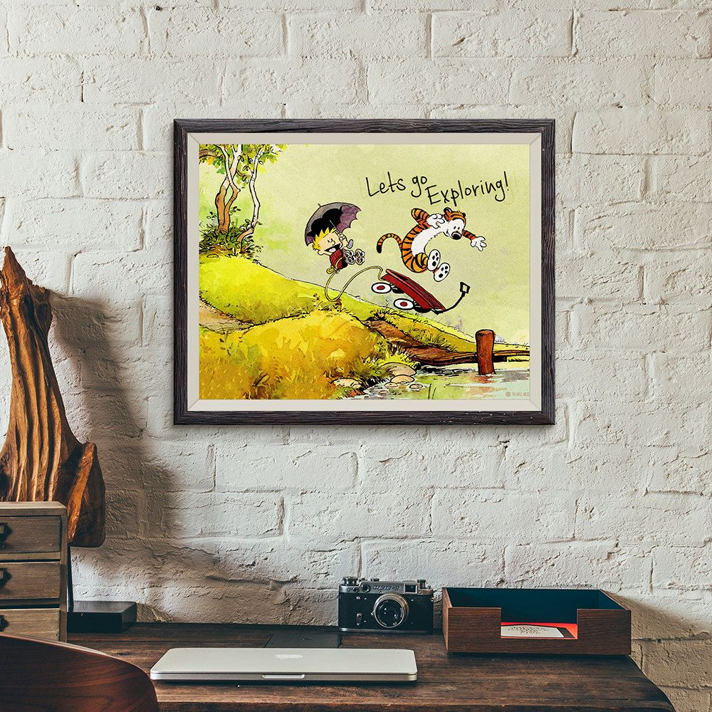 Calvin & Hobbes Poster design available on my Etsy Shop! High ...