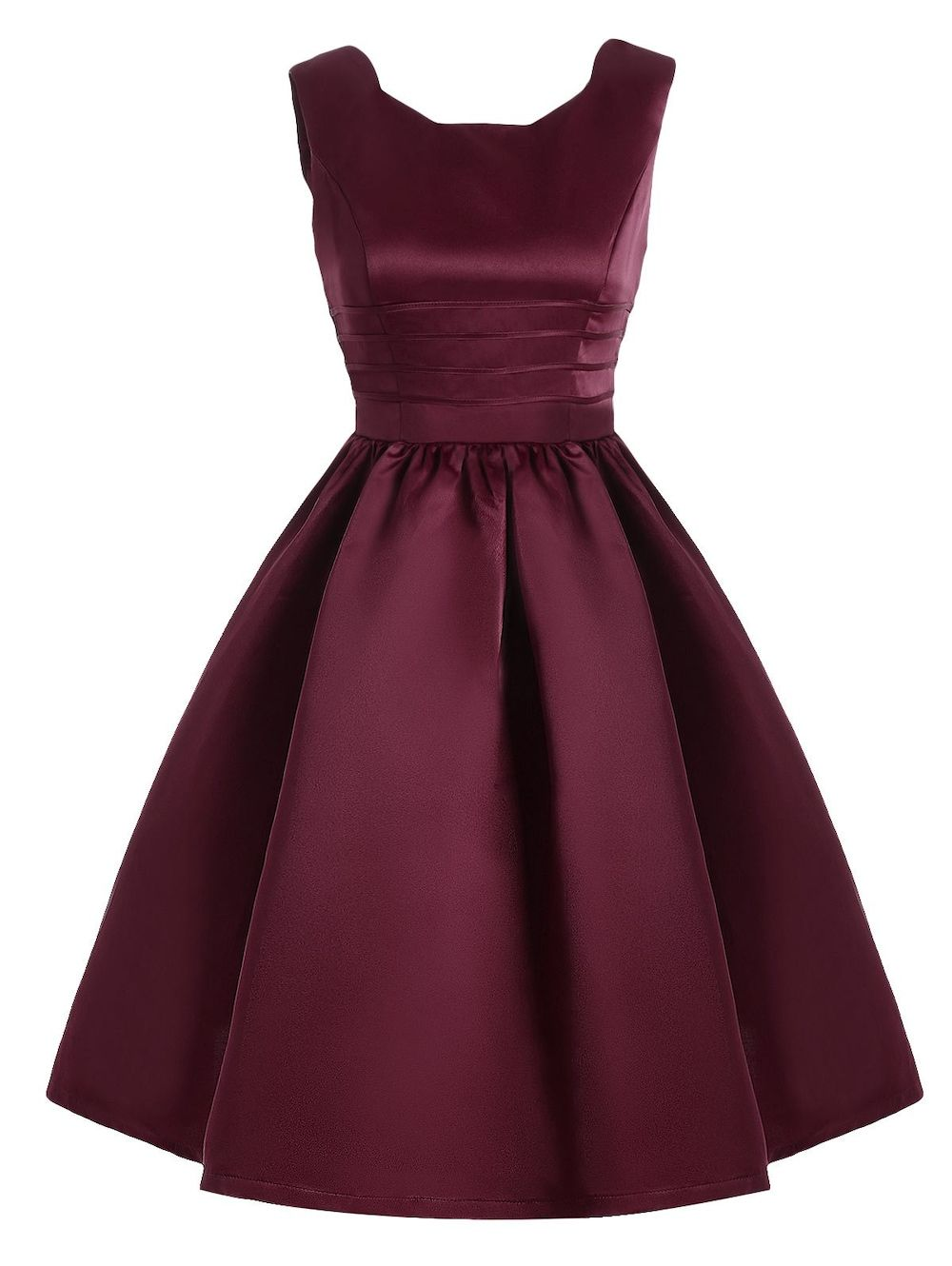 Vintage sweetheart neck fit and flare prom dress pinterest prom