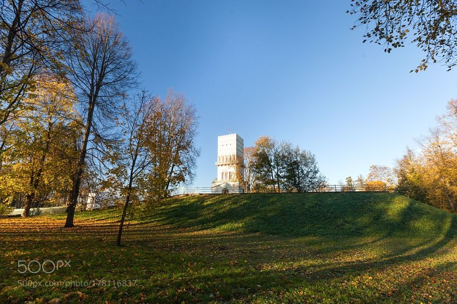 White Tower (Белая башня). by Alexfedoseenko. Please Like http://fb.me/go4photos and Follow @go4fotos Thank You. :-)