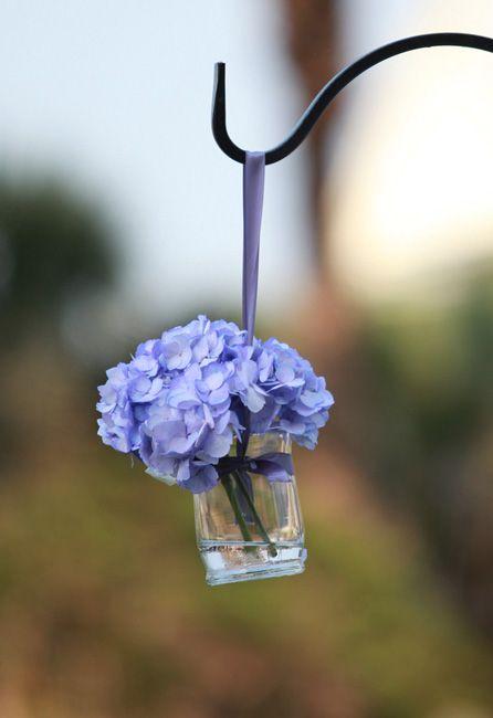 Softly Sweet Gallery Hydrangea Blossoms Aisle Flowers Blue Hydrangea