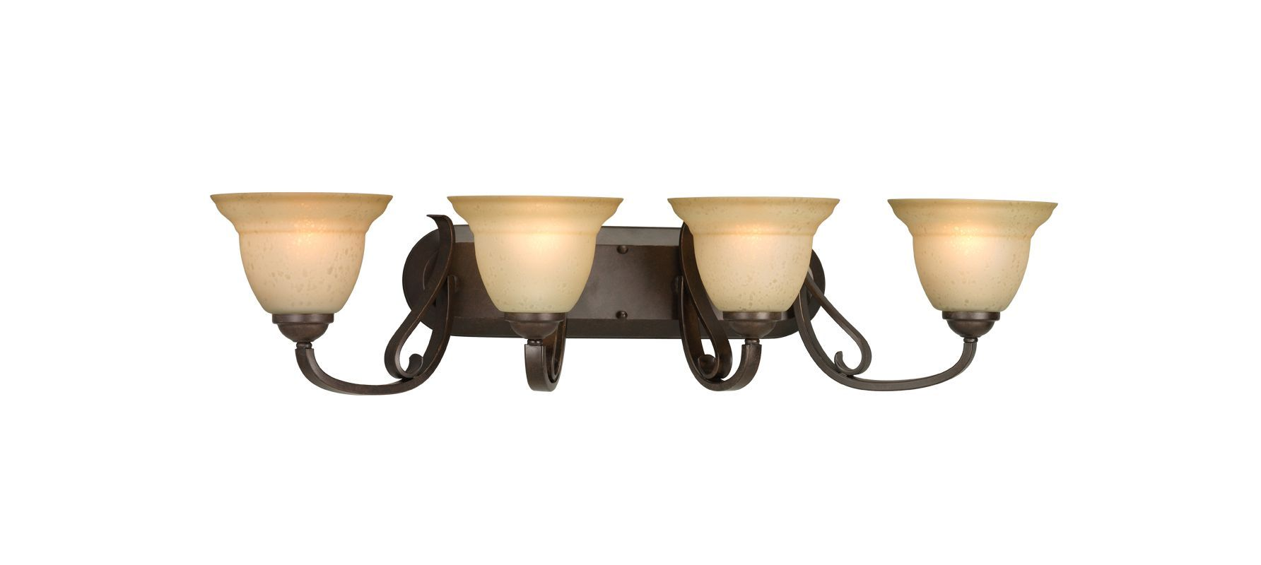 Progress Lighting P2884 Torino Four-Light Bathroom Fixture with ...