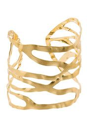 Gold Intertwined Cuff