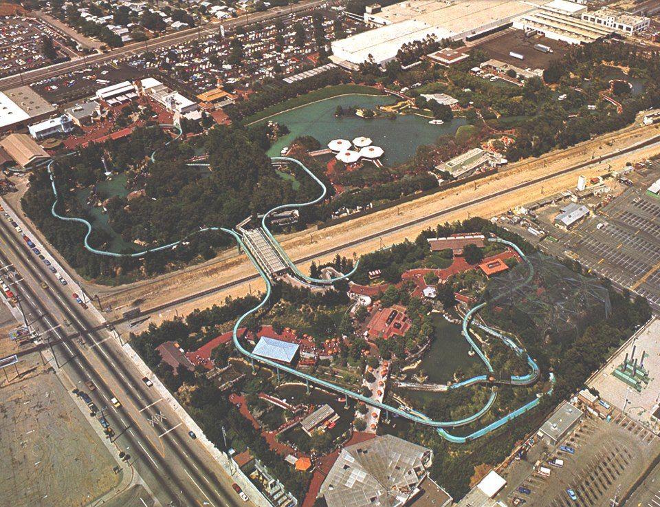 Aerial View Of Busch Gardens San Fernando Valley Busch Gardens Park Photos San Fernando Valley