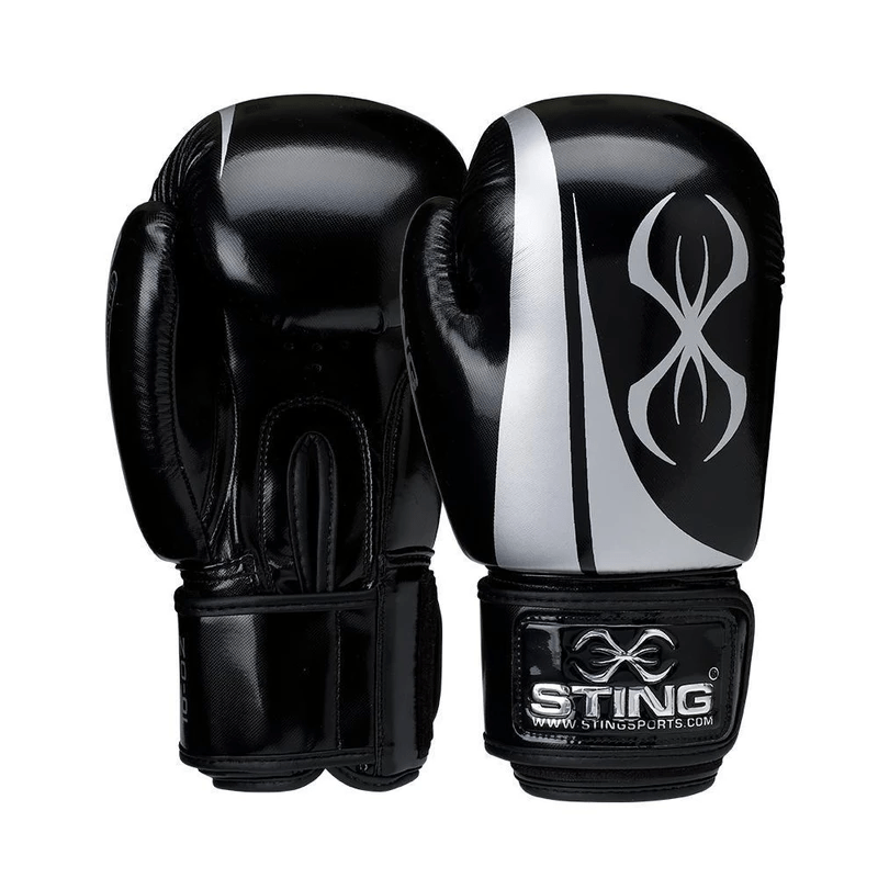 STINGARMALITE BAG MITTSFITNESS PROTECTION BLACK//WHITE