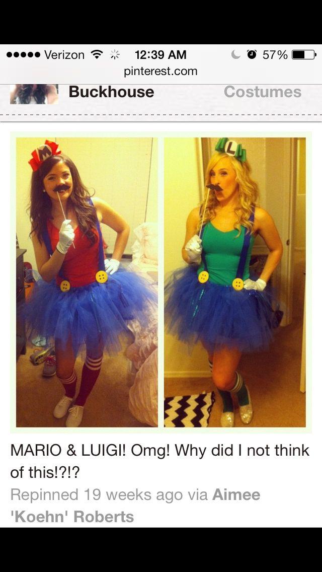 Halloween costume idea Holidays Pinterest Halloween costumes - halloween costume ideas for friends