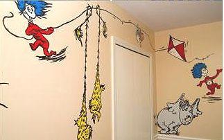 Dr Seuss Wall Decals Winda  Furniture - Dr seuss nursery wall decals