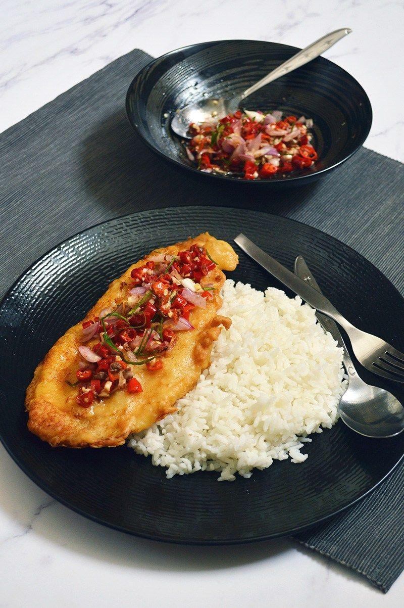 How To Make Delicious Dori Crispy Sambal Matah Resep Ikan Bakar Resep Masakan Resep Ikan