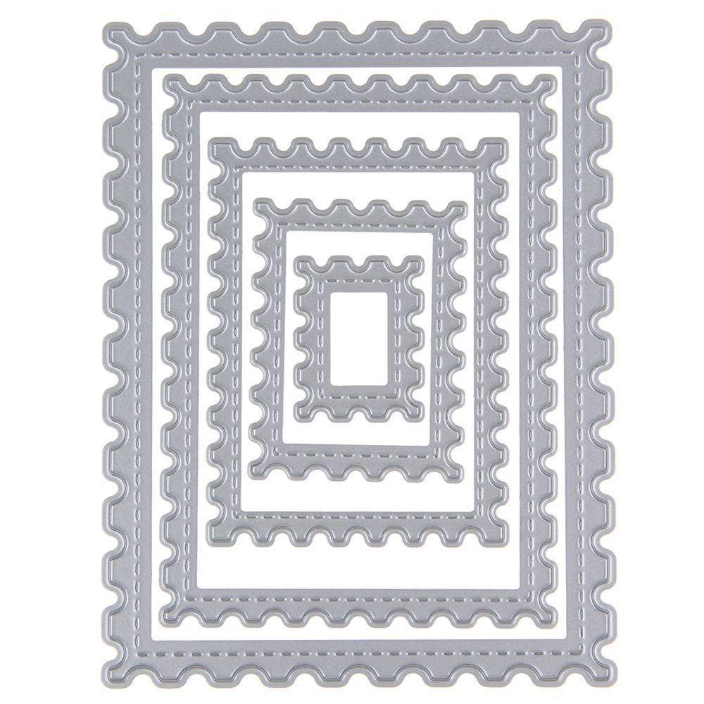 Hexagon spiral Cutting Dies Stencil DIY Scrapbooking Embossing Paper Card Crafts