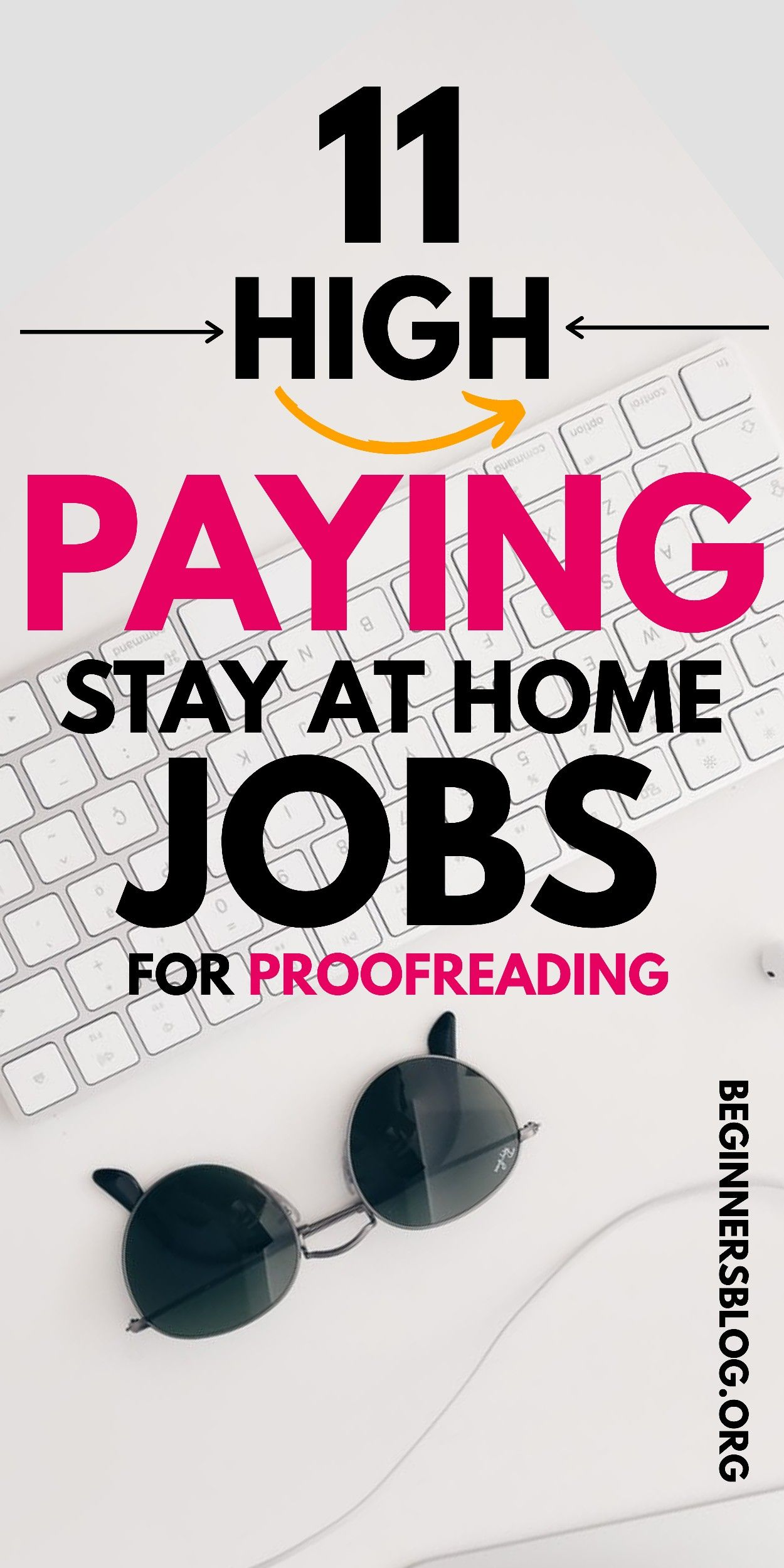 11 Online Proofreading Jobs for Beginners to Earn up to