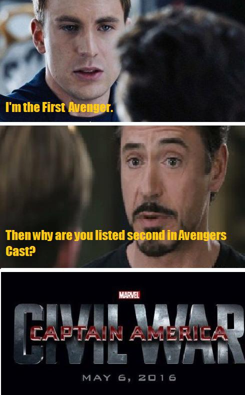Captain America Civil War Memes Espanol