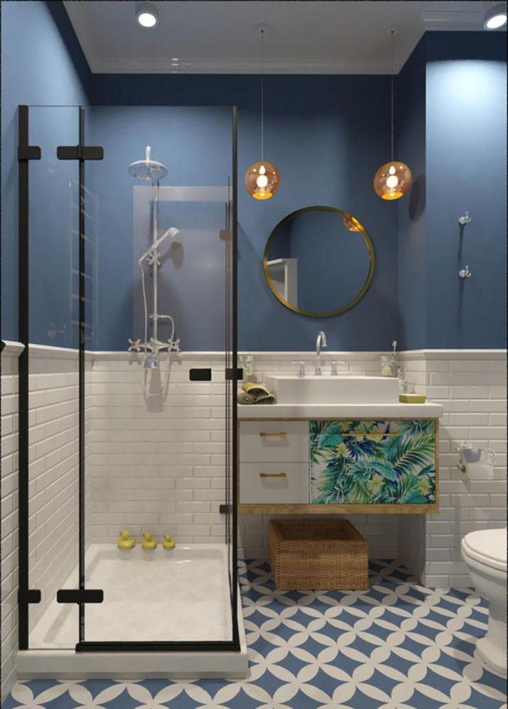 Photo of Amazing Small Bathroom Wall Tiles 241018 – # Check more at bathroom …