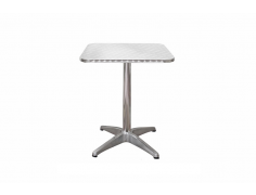 Inox Aluminum Cafe Table