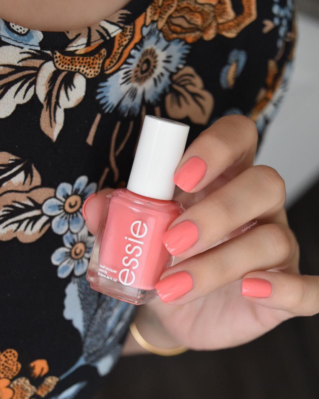 Paint on \'lounge lover\' a pretty pink peach from the essie Spring ...