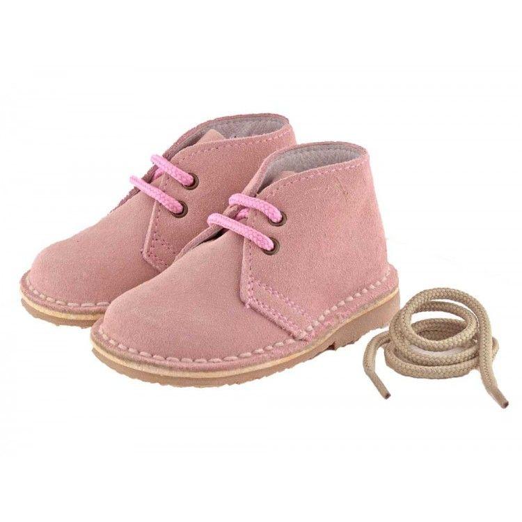 Bottines Chukka Desert Boots Garçon Fille Lacets 2 couleurs