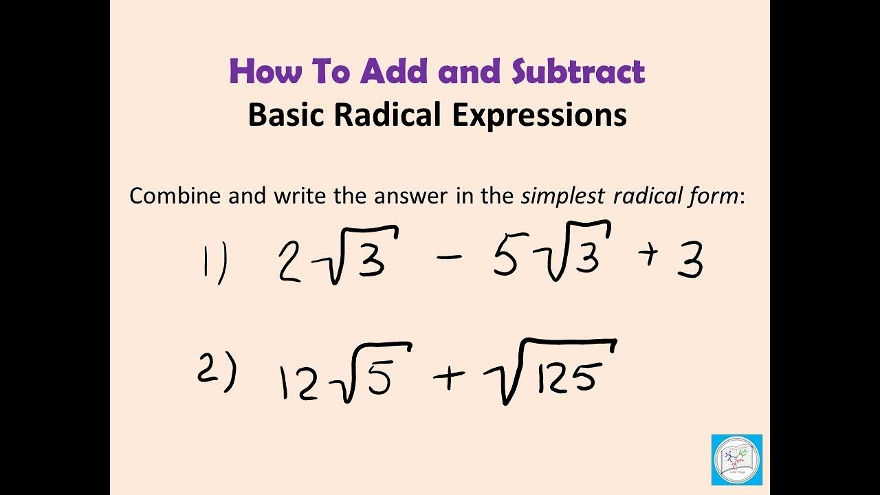 Radical Expressions Card Sort Activity Radical Expressions Simplifying Radical Expressions Math Addition Worksheets