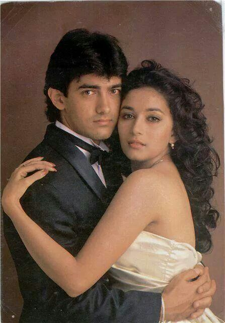 Amir Khan Madhuri Dixit Bollywood Actors Bollywood Actress