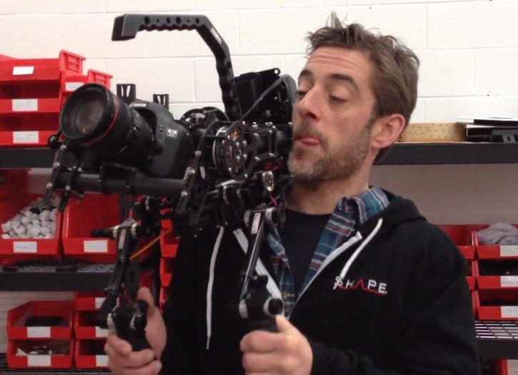 SHAPE GIMBAL ISEE II Sneak Peek: It's a Shoulder Brushless Gimbal Camera Rig: