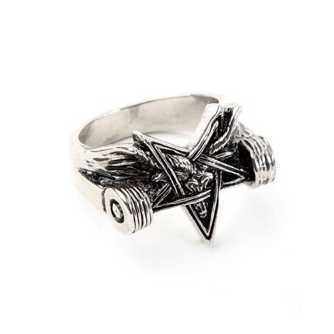 BLK-LTD x THRASHER Skate Goat Ring ... $35