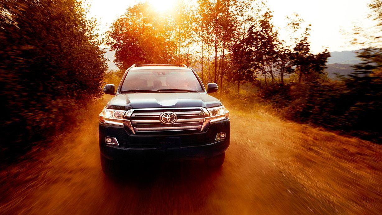 Toyota Land Cruiser Interior & Exterior Photos Toyota