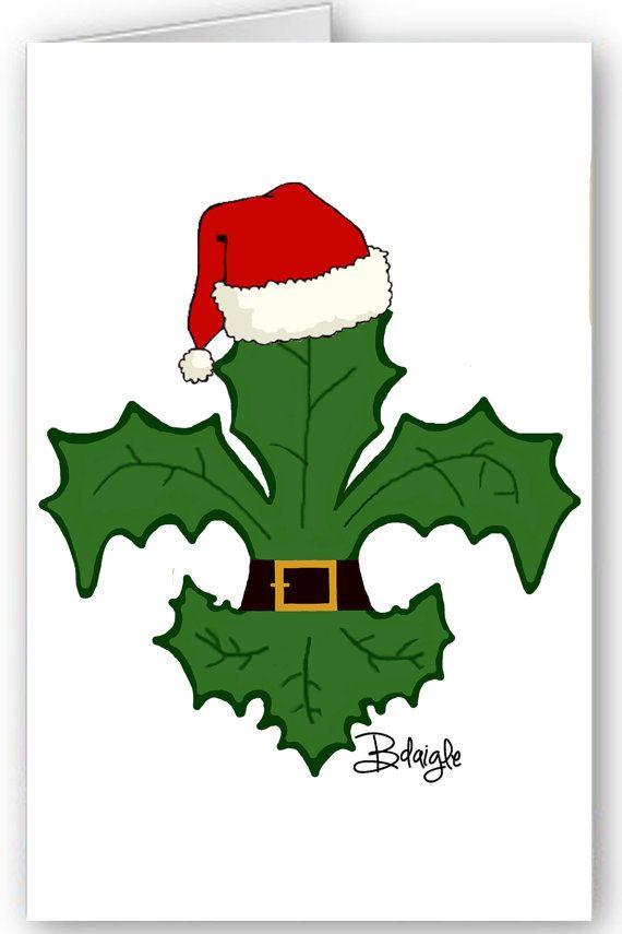 New Orleans Christmas Card Set Nola Fleur by BethDaiglePhotograph ...