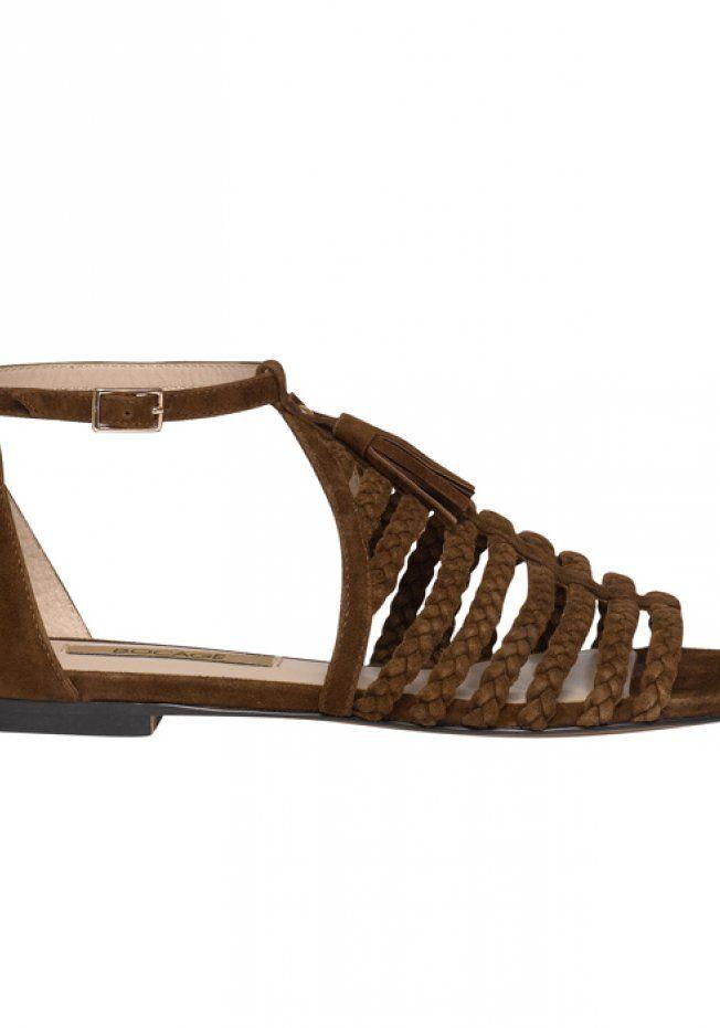 50 paires de sandales plates pour flâner cet été   Sandales plates ... 08cab5d89e87