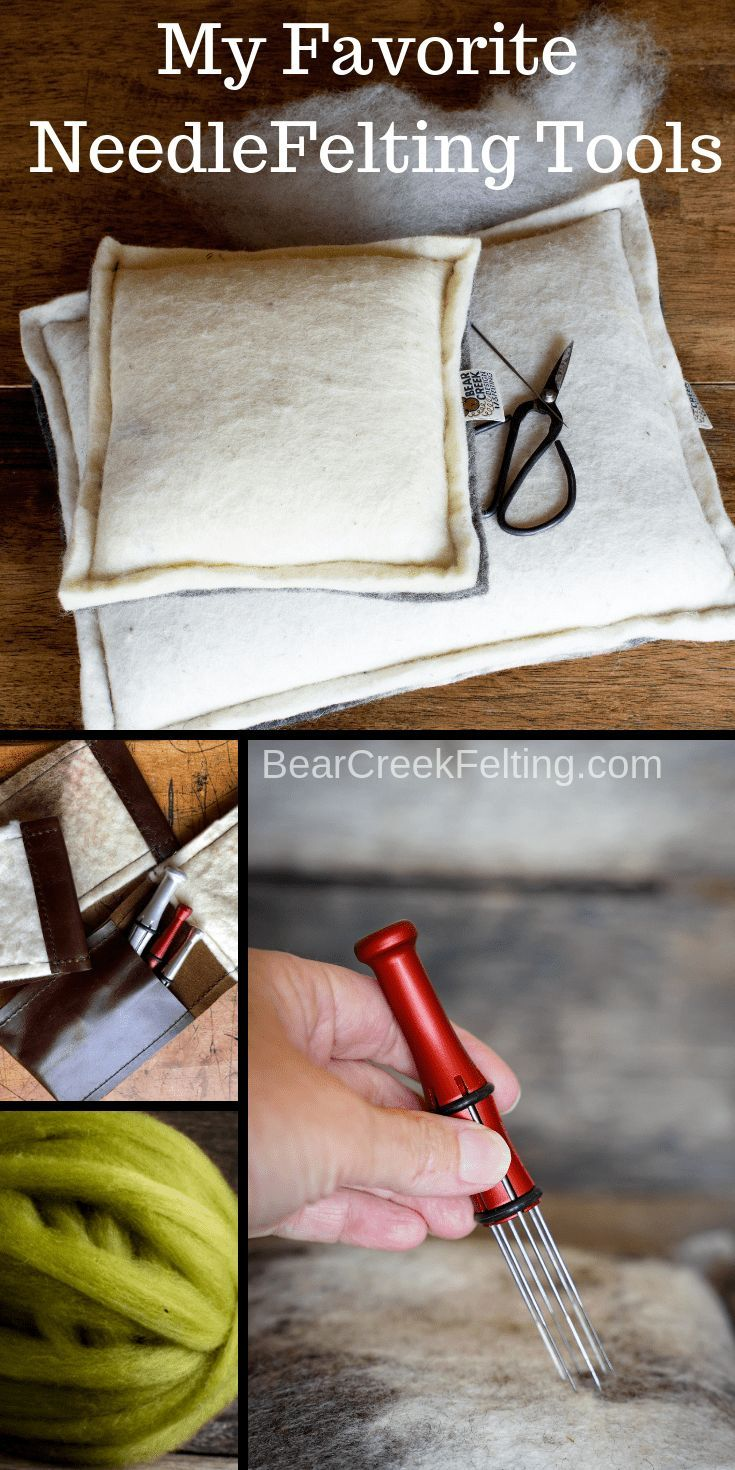 Bear Creek - My favorite tools - Bear Creek Felting