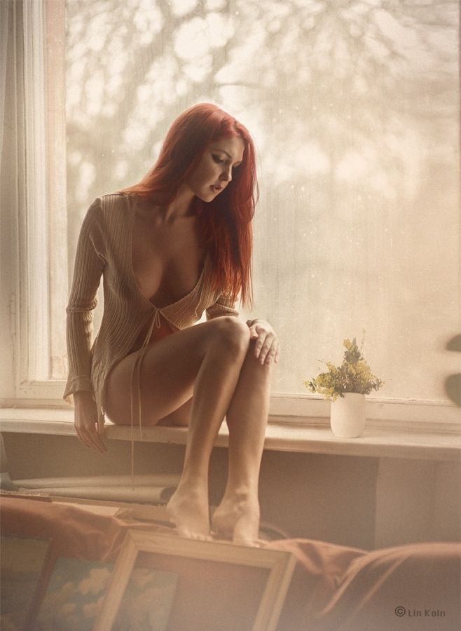 Something erotic model redhead