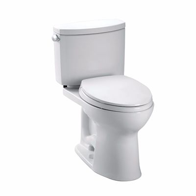 Toto Drake Ii 2 Piece Toilet 1 28 Gpf Single Flush Elongated