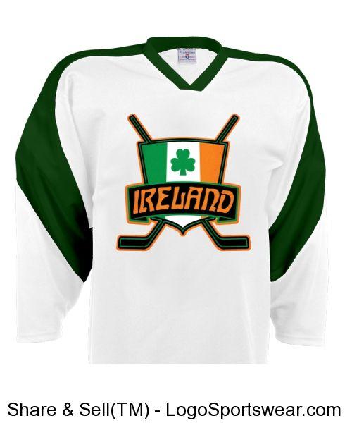 8d6bf814d Ireland Ice Hockey Shirt Jersey Irish Flag