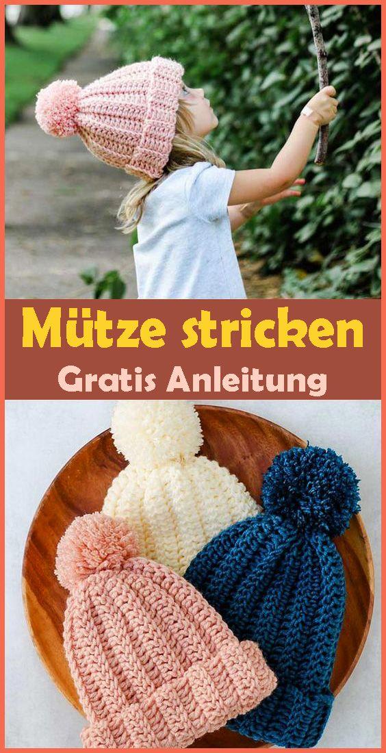 Photo of Mütze stricken – kostenlose & einfache Anleitung für Anfänger