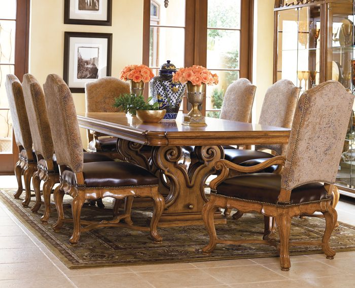 Dining Table  Dining Table  Pinterest  Dining Dining Room Sets Awesome Large Dining Room Set Inspiration